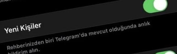 Telegrama Katıldı Bildirimi Nasıl Kapatılır